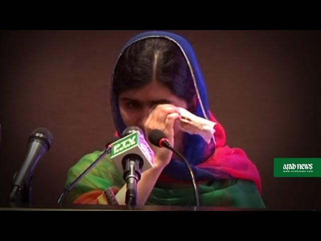 Returning to Pakistan, Malala is overwhelmed by emotions