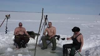 Лед рыбалка записка и пирожки- 2 часть