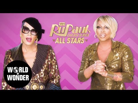 Fashion Photo Ruview: All Stars 3 RuPaul's Drag Race with Raja & Raven