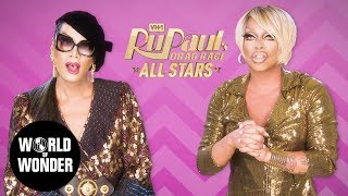 Fashion Photo Ruview: The Ru-union of Raja & Raven