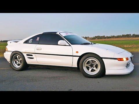 2017 Toyota Supra >> Honda Powered MR2 DESTROYS Supras! (600hp Turbo K24) - YouTube