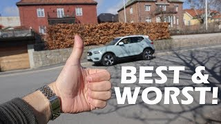 The Best And Worst Things About The 2018 Volvo XC40 D4 Momentum!