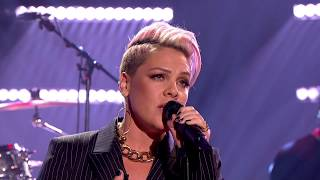 P!nk - What About Us [Live on Graham Norton HD]