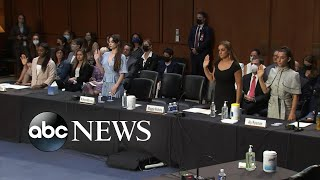Olympic gymnasts testify in Congress about sexual abuse