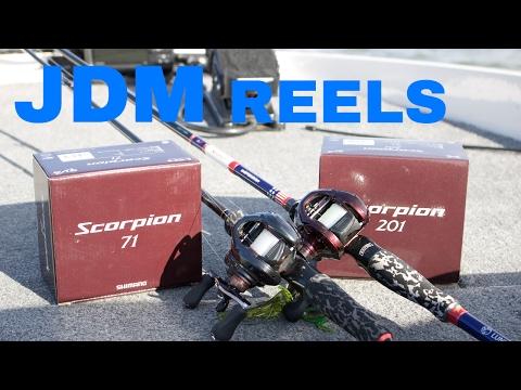 How Can A JDM Fishing Reel Benefit YOU? (Shimano Scorpion)