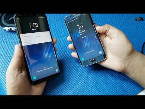Samsung Galaxy S8+ VS Galaxy S6 Edge (Galaxy S8 Rom)