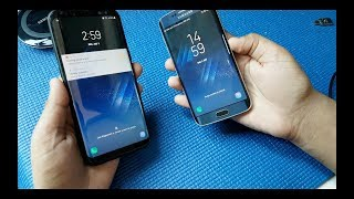 Samsung Galaxy S8+ VS Galaxy S6 Edge (Galaxy S8 Rom)