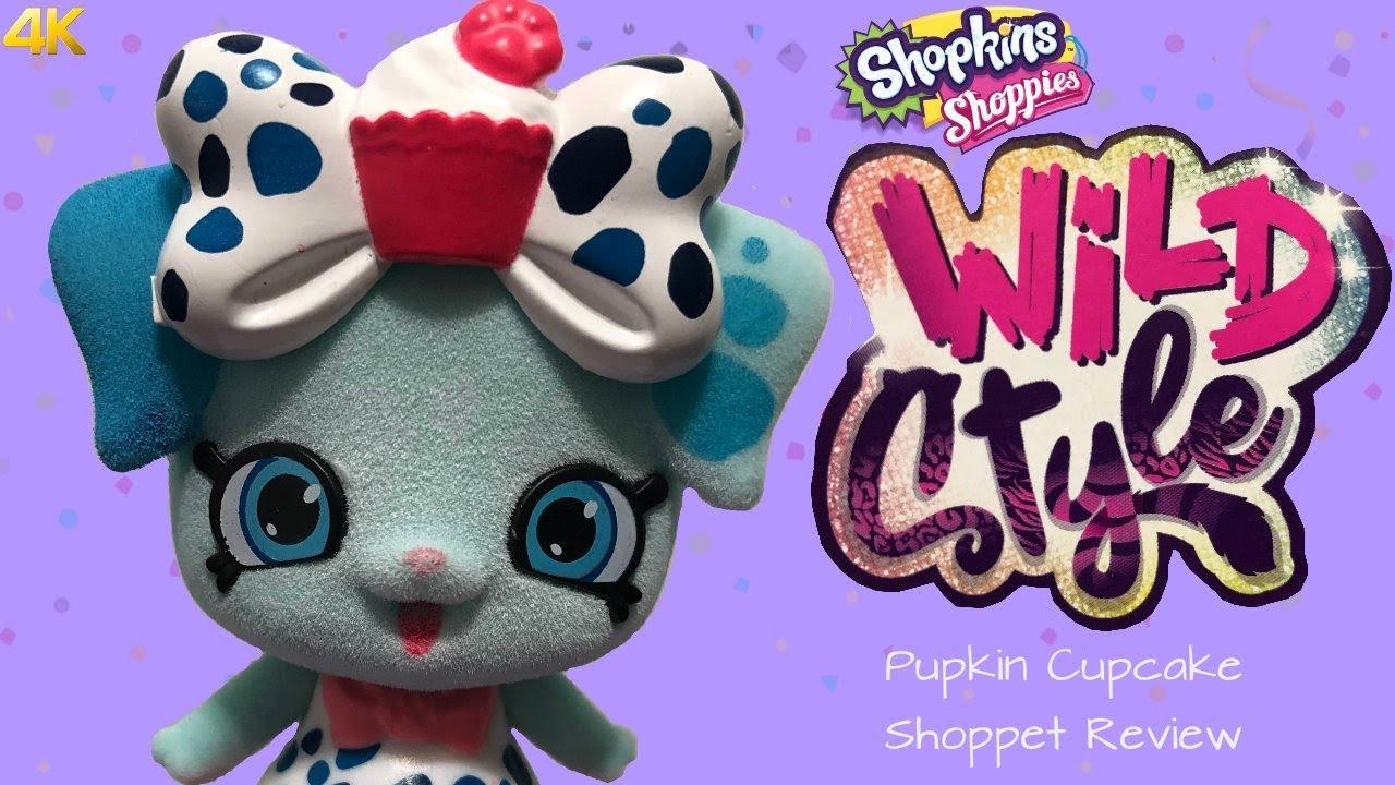 Shopkins Season 9 Wild Style Pupkin Cupcake Shoppet Pack ...