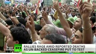Bans & Freedoms: Rallies rage on both sides of Syrian split