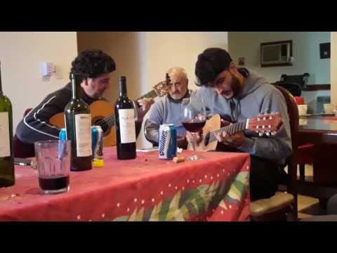 Tubo Moya y Juan Arabel - cumple juan arabel 2017