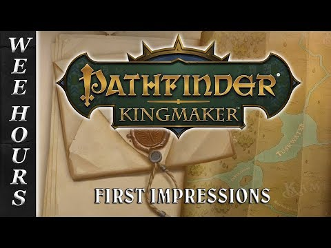 PATHFINDER KINGMAKER: First Look At Combat (30 Games/30 Days 26)