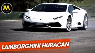 Quand on a découvert la Lamborghini Huracan (Mai 2014)
