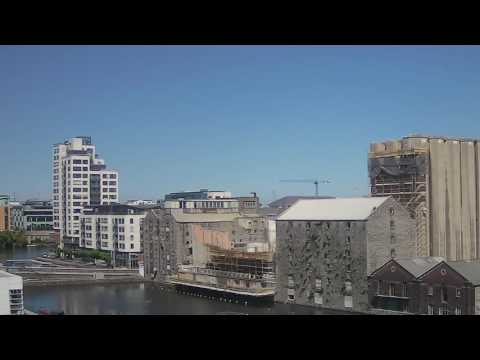 Evercam Crane in the Dublin Skyline