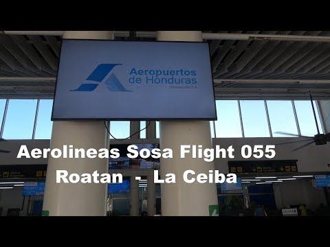 Aerolineas Sosa Roatan - La Ceiba Jetstream32 4K