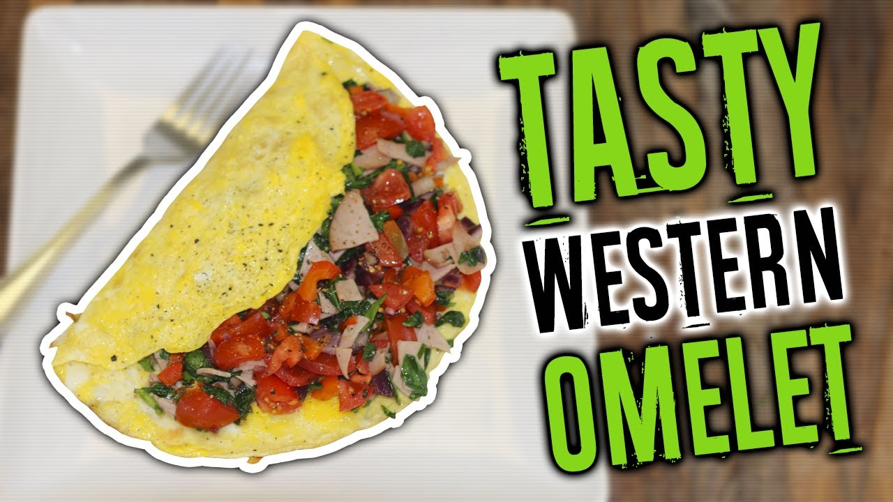 How To Make A Western Omelette Recipe Healthy High Protein Breakfast Liveleantv Youtube