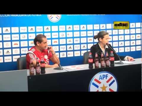Conferencia de prensa de Ramón Díaz - Paraguay - Post 23 convocados para Copa América