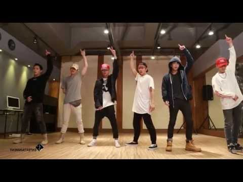 [mirror]-b.a.p---young,-wild-&-free-dance-practice