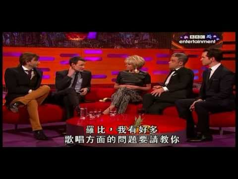 The Graham Norton Show S12E6 David Tennant, Matt Smith, Emma Thompson, Jimmy Carr, Robbie Williams