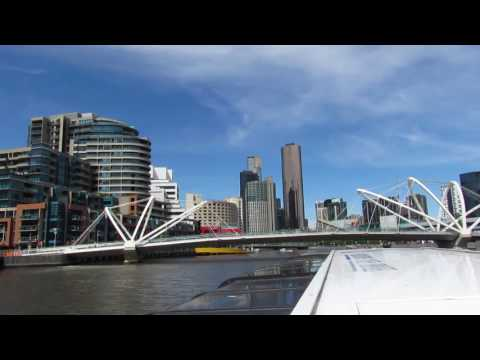 Yarra River Cruise - Melbourne 2016