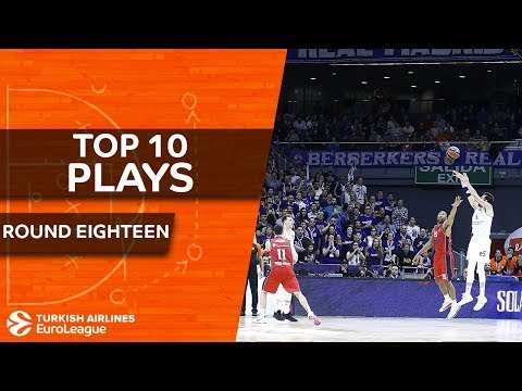 Top 10 Plays  - Turkish Airlines EuroLeague Regular Season Round 18