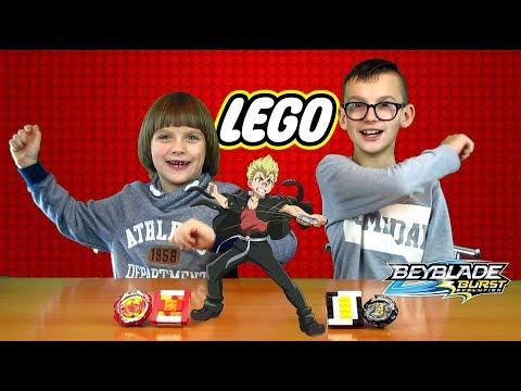Бейблэйд из LEGO ФЕНИКС vs ФОРНЕУС / Бейблэйд / Beyblade