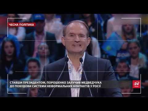 Повернення Медведчука: лобіст Кремля знову при владі – до чого тут Порошенко, Чесна політика