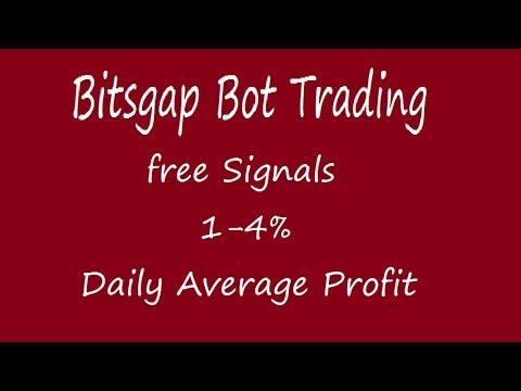 Bitsgat Bot trading ! free crypto signal & average 1-4% daily profit