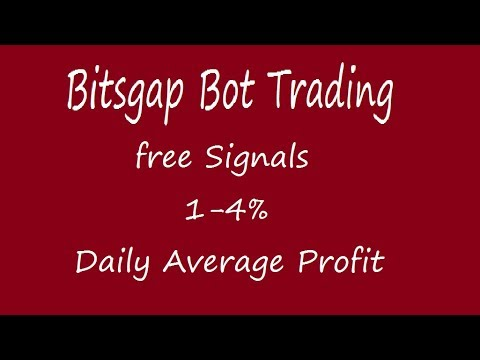 Crypto trading bot signals