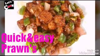 quick&easy prawns recipe by/ let