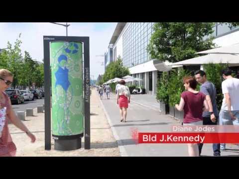 JCDecaux Luxembourg présente ART'DOOR