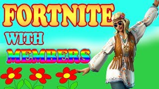 FORTNITE with Members (READ DESCRIPTION) //1700+WINS// Fortnite xbox player live