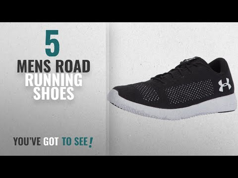 Top 10 Mens Road Running Shoes [2018]: Under Armour UA Rapid, Men's Running Shoes, Black