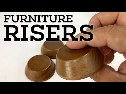 ".8"" Solid Wood Furniture Risers  Review"