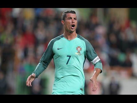 Португалия - Уэльс обзор матча Евро 1/2 06.07. 2016 Голы Роналду и Нани