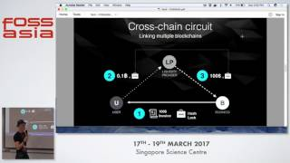 COMIT a super blockchain network for instant transactions - Toby Hoenisch - FOSSASIA Summit 2017