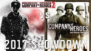 CoH1 vs. CoH2 - Company of Heroes 2017 showdown - what did each game do better?