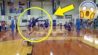 BEST VOLLEYBALL SAVE EVER !? Crazy Volleyball Saves (HD)