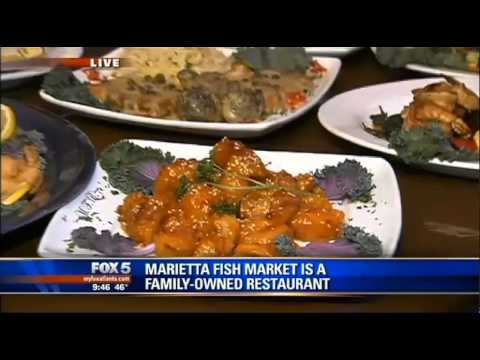 Marietta Fish Market Seafood Feast With Good Day Atlanta's Paul Milliken