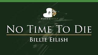Billie Eilish - No Time To Die - LOWER Key (Piano Karaoke Instrumental)