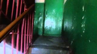 Аварийный дом Кузнецк молодая гвардия 158г. Лестничная площадка(Лестничная площадка аварийного дома., 2014-09-11T21:28:13.000Z)