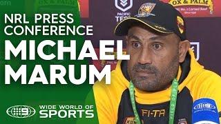 Test Match Press Conference: Michael Marum   NRL on Nine