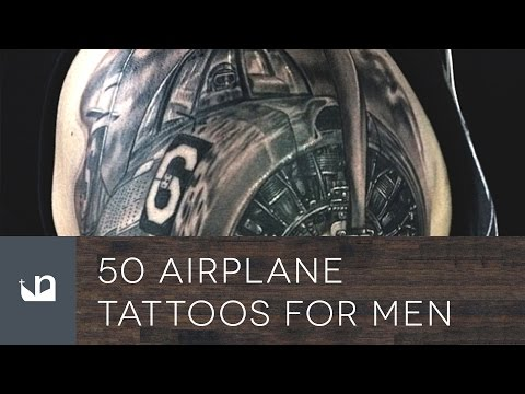 50 Airplane Tattoos For Men