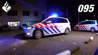 Night shift Dutch Police, laser pointer, drugs, weapons and various calls for service