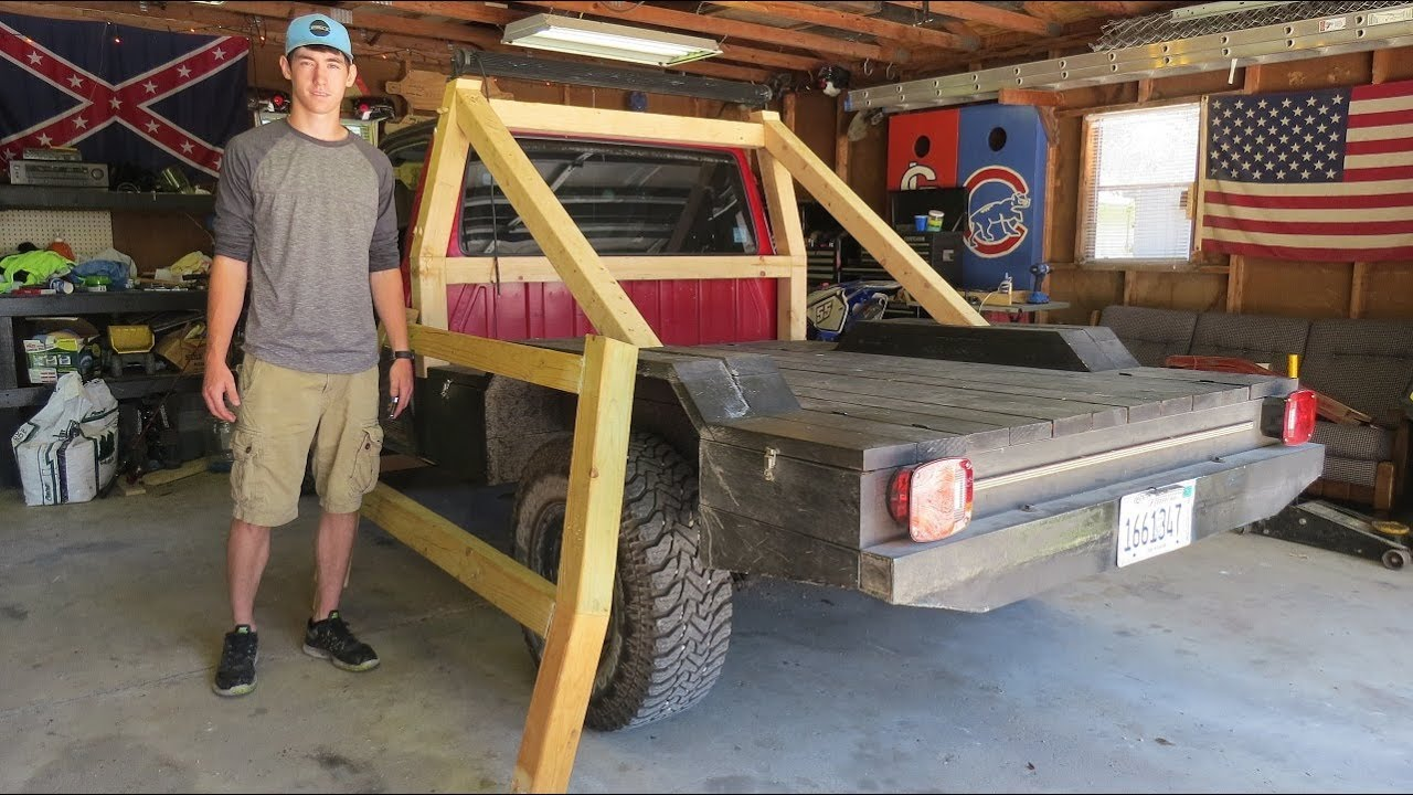 All Wood Flatbed Ford Ranger Wooden Thing