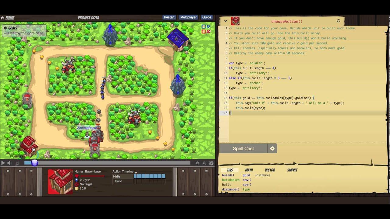 CodeCombat Multiplayer Tutorial