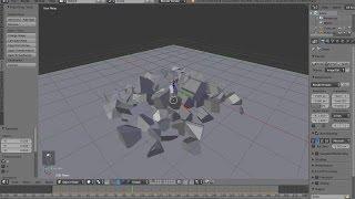 Blender 3D 2.70 - Cell Fracture Tutorial (Basic)