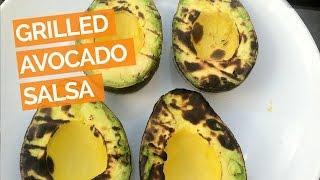 Grilled Avocado Salsa Recipe