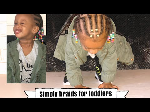 Beginner Friendly Braids For Toddlers | Simply And Cute |