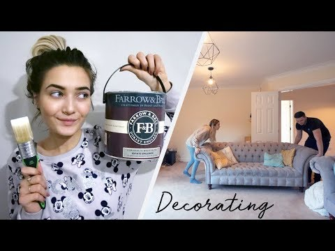 Download Youtube: DECORATING OUR NEW HOUSE! MOVING VLOG #4
