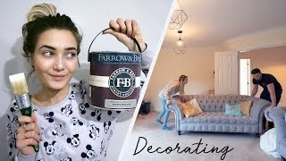 connectYoutube - DECORATING OUR NEW HOUSE! MOVING VLOG #4